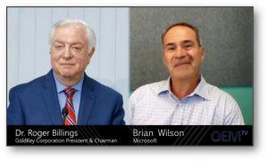 Dr. Billings Microsoft OEM TV