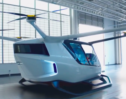 First Passenger Drone Powered by Hydrogen Fuel Cells