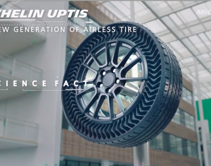Roger Billings TechSpot--Michelin Airless Tire