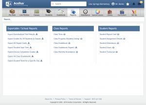 New Teacher Portal Updates