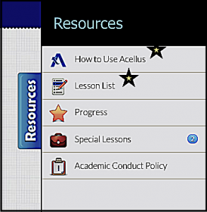 Acellus Video - Resources