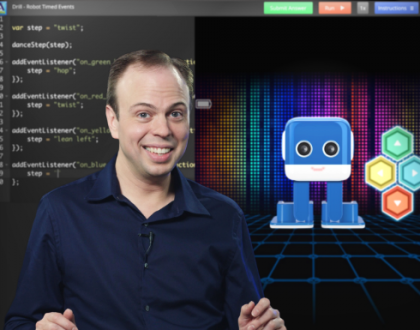 New Acellus Course Released: Robotics Dance Programming