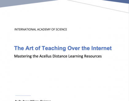 New White Paper — The Art of Teaching Over the Internet