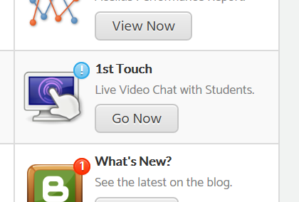 """New Acellus CybrSchool Feature: """"First Touch"""" Interface"""