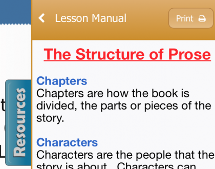 New Acellus Feature: Printable Lesson Manuals